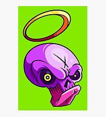 Good Bad Skull Photographic Print