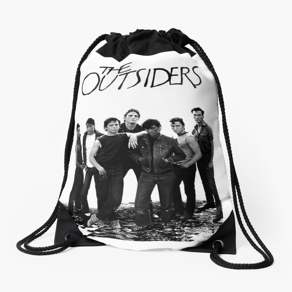 The Outsiders Drawstring Bag