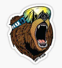 Bear Goggles Colour Sticker