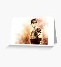 Mad Max : Fury Road - Furiosa Greeting Card