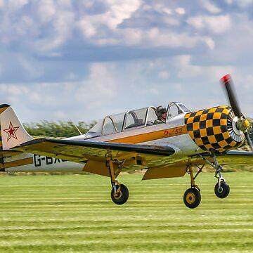 Aerostar Iak-52 G-BXJB by oscar533