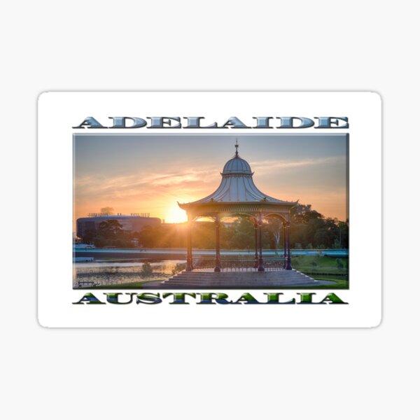 Elder Park Sunset Sticker