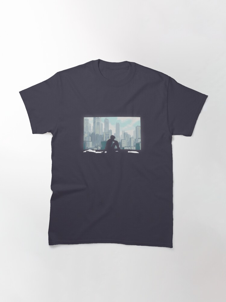 Alternate view of ghost in the shell Classic T-Shirt