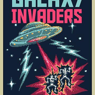 Galaxy Invaders by stylebytara