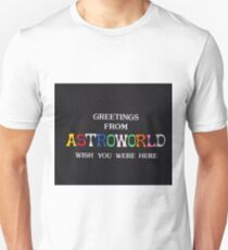 Greetings from Astroworld  Unisex T-Shirt