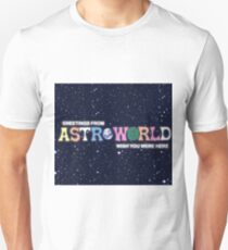 Greeting from Astroworld - Wish you were here Unisex T-Shirt