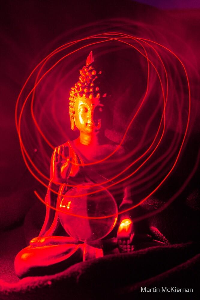 Red Buddha by Martin McKiernan