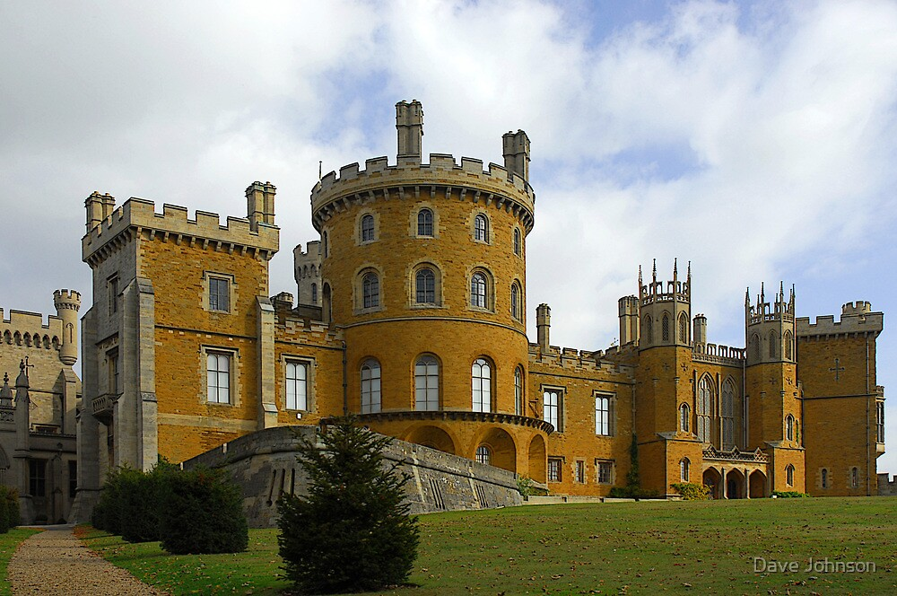 Belvoir castle approach by Dave Johnson