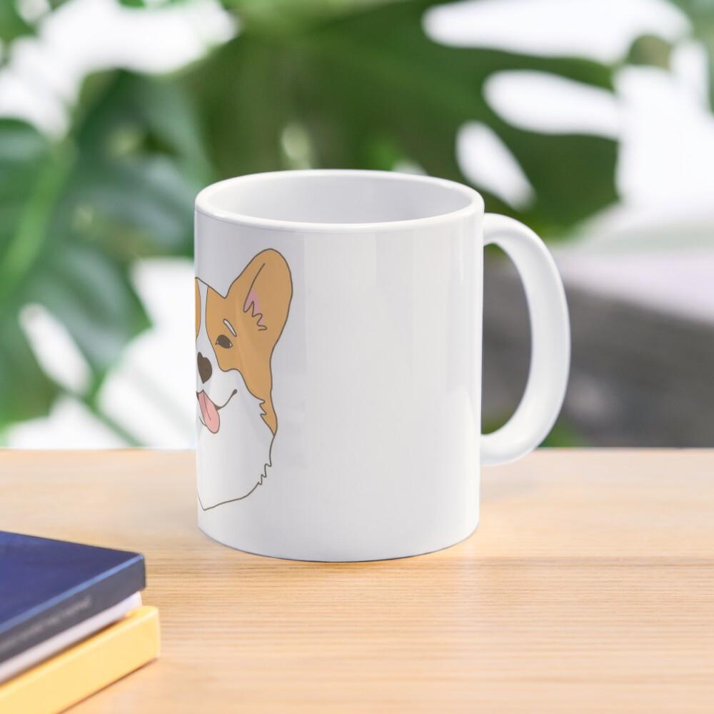 Cute Cartoon CORGI Coaster-Corgi Chien Chiot drôle animaux animaux de compagnie Maman Cadeau #15890