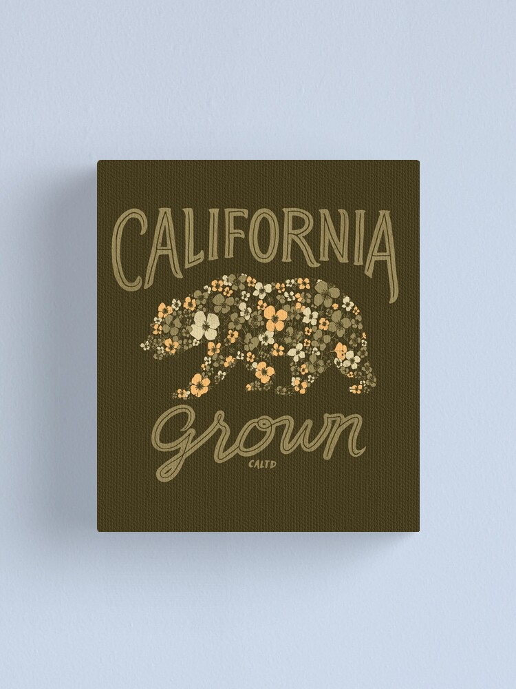 Alternate view of California Grown Canvas Print