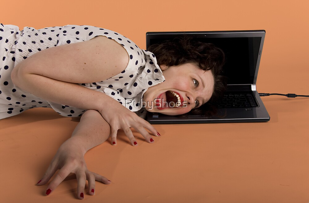 The Laptop's Revenge (II) by RubyShoes