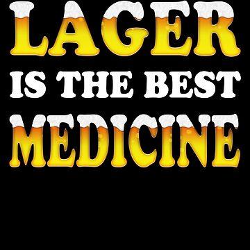 Beer Lover, Lager Beer by Bullish-Bear