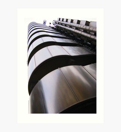 Up, up and away - Lloyds Building, London Art Print