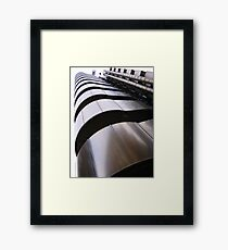 Up, up and away - Lloyds Building, London Framed Print