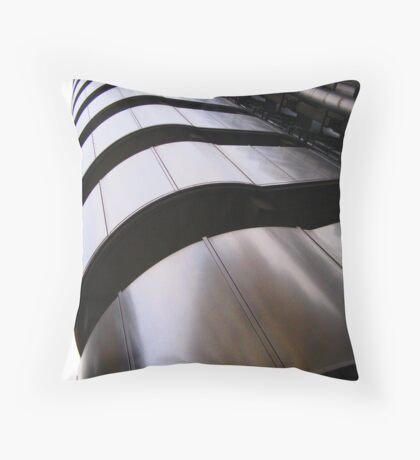 Up, up and away - Lloyds Building, London Throw Pillow