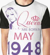 It's My Birthday 70. Made In May 1948. 1948 Gift Ideas. Graphic T-Shirt