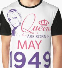 It's My Birthday 69. Made In May 1949. 1949 Gift Ideas. Graphic T-Shirt