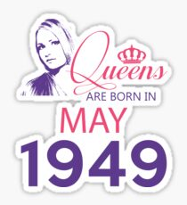 It's My Birthday 69. Made In May 1949. 1949 Gift Ideas. Sticker