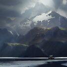 A Place Of Gods  von Kevin Zamir  Goeke
