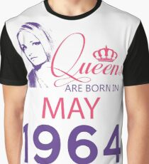 It's My Birthday 54. Made In May 1964. 1964 Gift Ideas. Graphic T-Shirt