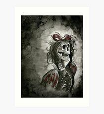 Snow White Apocalypse Art Print