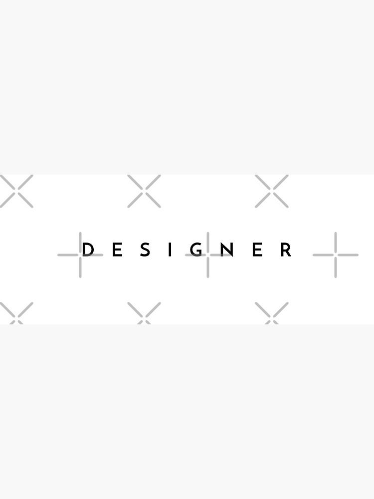 Designer (minimal) (Inverted) by developer-gifts