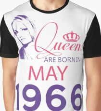 It's My Birthday 52. Made In May 1966. 1966 Gift Ideas. Graphic T-Shirt