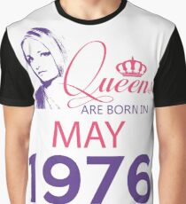 It's My Birthday 42. Made In May 1976. 1976 Gift Ideas. Graphic T-Shirt