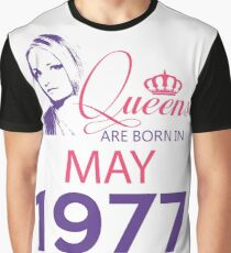 It's My Birthday 41. Made In May 1977. 1977 Gift Ideas. Graphic T-Shirt