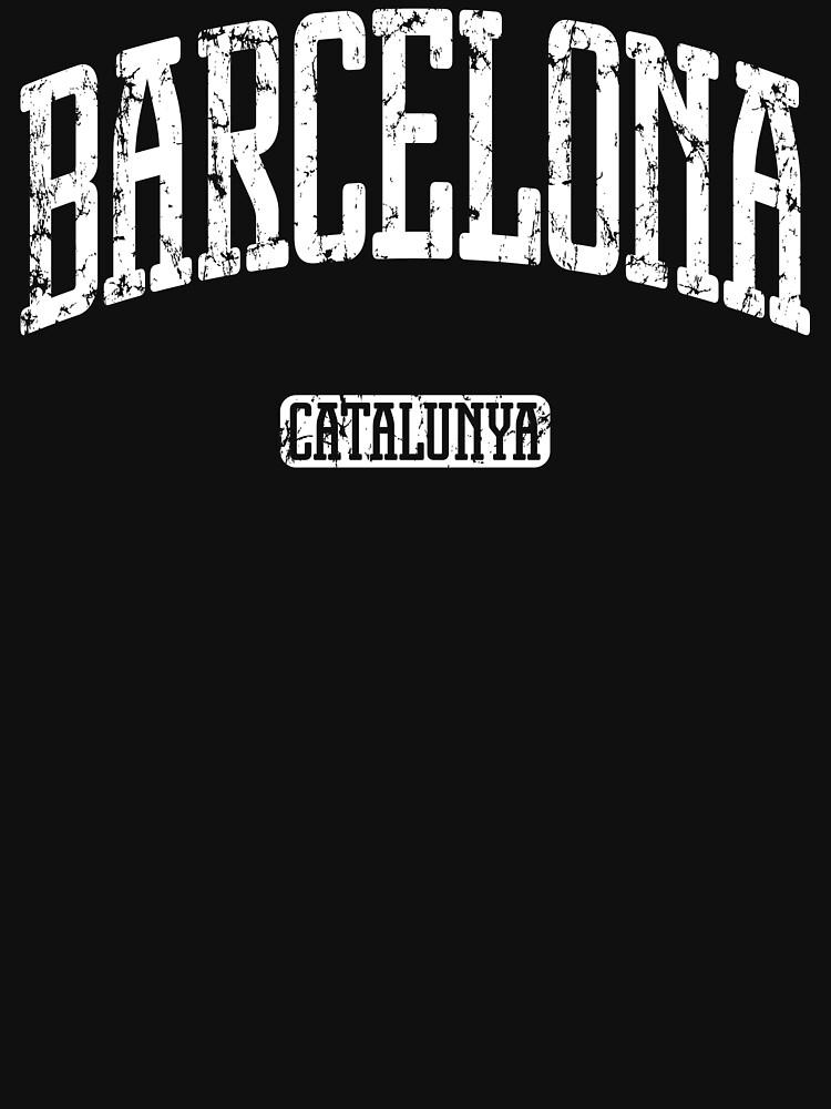 Barcelona (White Print) de smashtransit