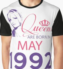 It's My Birthday 26. Made In May 1992. 1992 Gift Ideas. Graphic T-Shirt