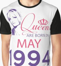 It's My Birthday 24. Made In May 1994. 1994 Gift Ideas. Graphic T-Shirt