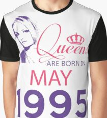 It's My Birthday 23. Made In May 1995. 1995 Gift Ideas. Graphic T-Shirt