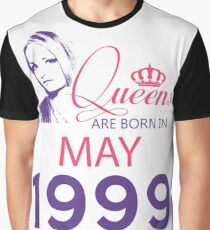 It's My Birthday 19. Made In May 1999. 1999 Gift Ideas. Graphic T-Shirt