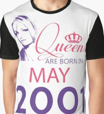 It's My Birthday 17. Made In May 2001. 2001 Gift Ideas. Graphic T-Shirt