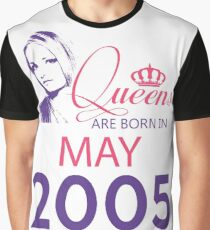 It's My Birthday 13. Made In May 2005. 2005 Gift Ideas. Graphic T-Shirt