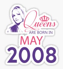 It's My Birthday 10. Made In May 2008. 2008 Gift Ideas. Sticker