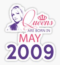 It's My Birthday 9. Made In May 2009. 2009 Gift Ideas. Sticker