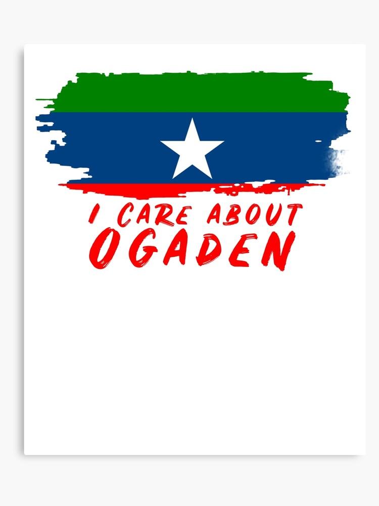 Proud Ogaden Flag | Canvas Print