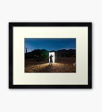 There are other worlds than these. Framed Print