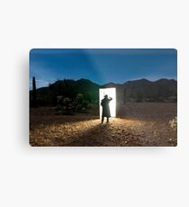 There are other worlds than these. Metal Print