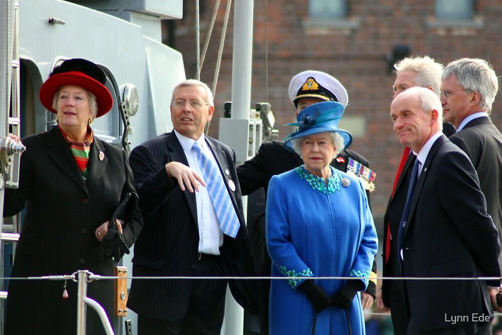 Queen Elizabeth II by Lynn Ede
