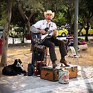 «Músico callejero» de Riko2us