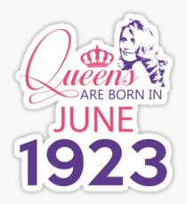 It's My Birthday 95. Made In June 1923. 1923 Gift Ideas. Sticker