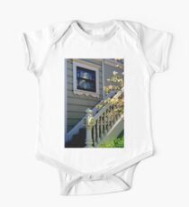 Upstairs Reflected, Downstairs One Piece - Short Sleeve