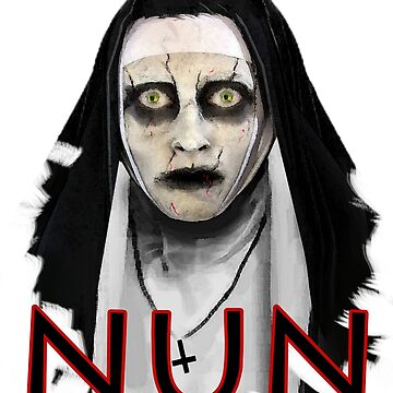 Nun Halloween T-Shirt horror by Collagedream