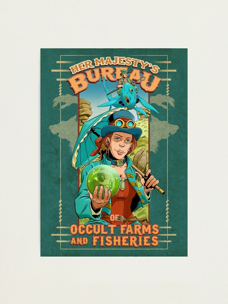 Alternate view of Her Majesty's Bureau of Occult Farms and Fisheries Photographic Print