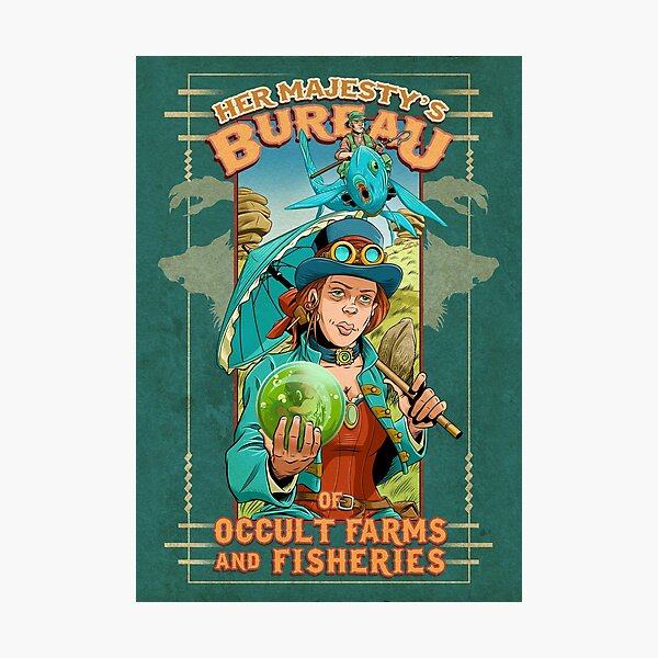 Her Majesty's Bureau of Occult Farms and Fisheries Photographic Print