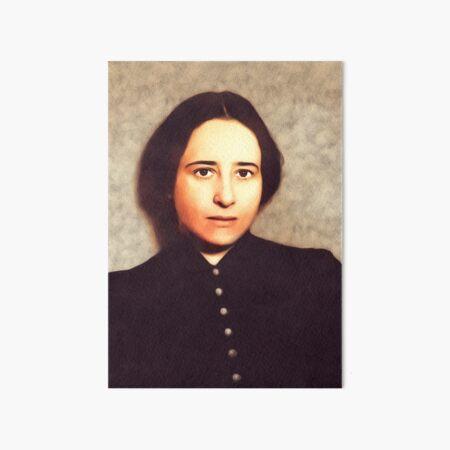 Hannah Arendt, Philosopher Art Board Print