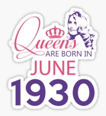 It's My Birthday 88. Made In June 1930. 1930 Gift Ideas. Sticker